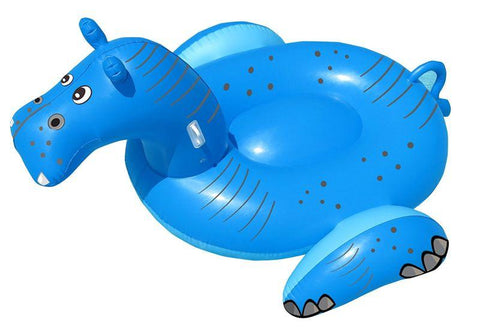Giant Hippo Swimming Pool Float