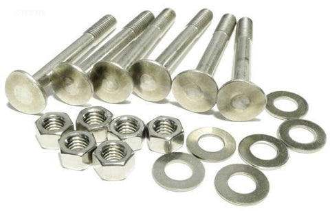"SR Smith 3.5"" Nut and Bolt -  Set of 6"