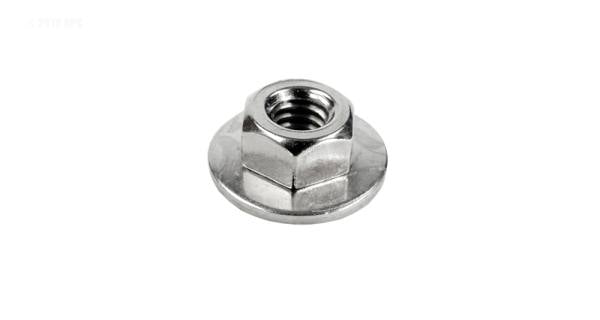 "1/4"" hex nut w/washer for tank bolt"