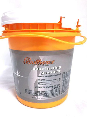 Brilliance for spas Chlorinating Granules - 5 lb