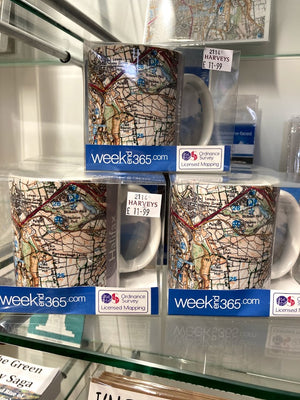 Weekend 365 Ordnance Survey Mug - Halifax
