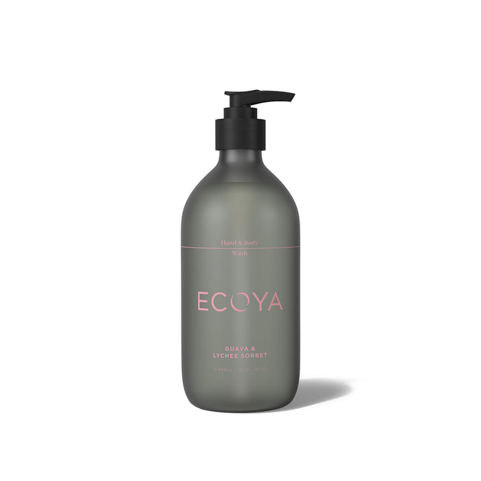 Ecoya Hand And Body Wash Guava & Lychee