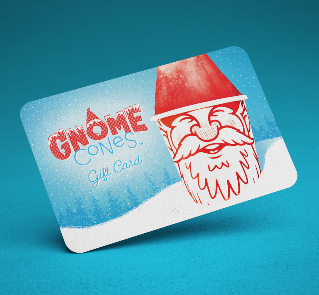 Gnome Cones Physical Gift Card
