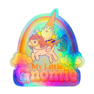My Little Gnomie Decal