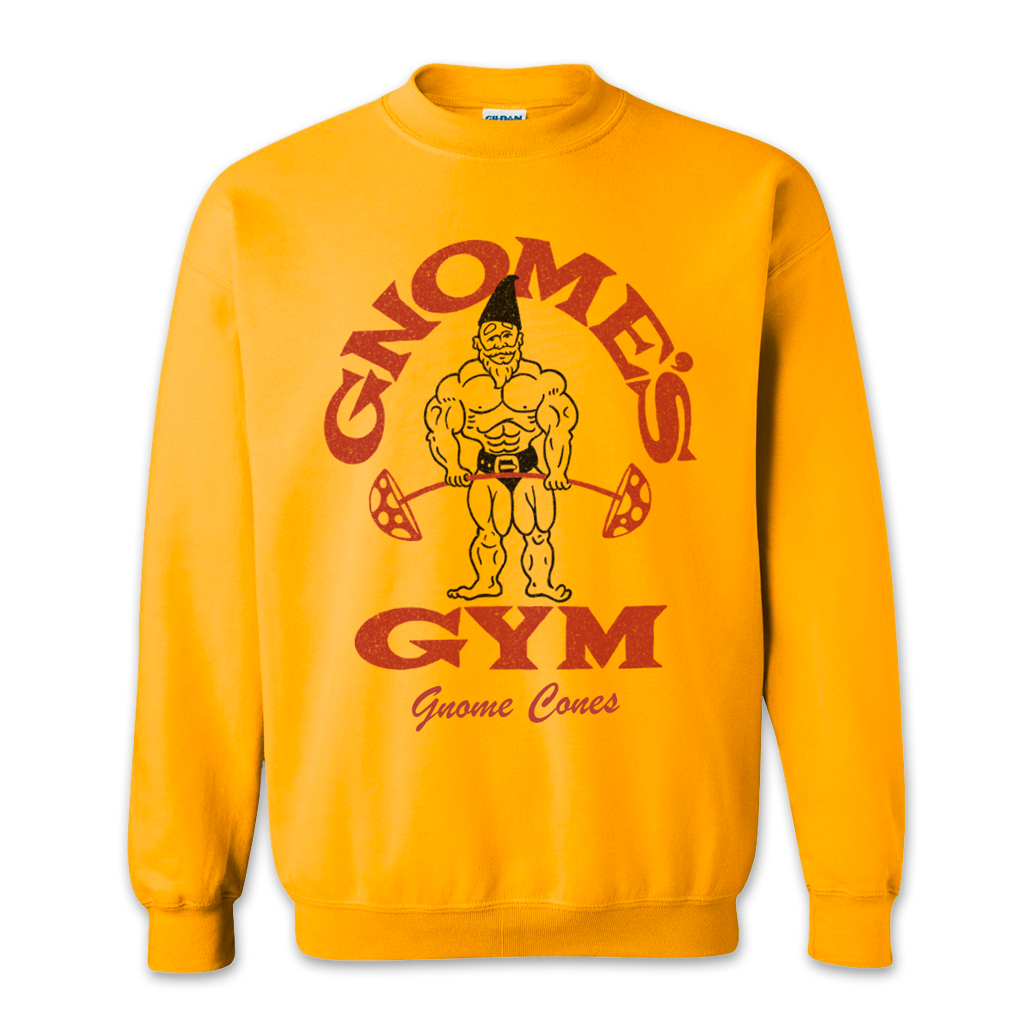 Gnome's Gym Sweatshirt
