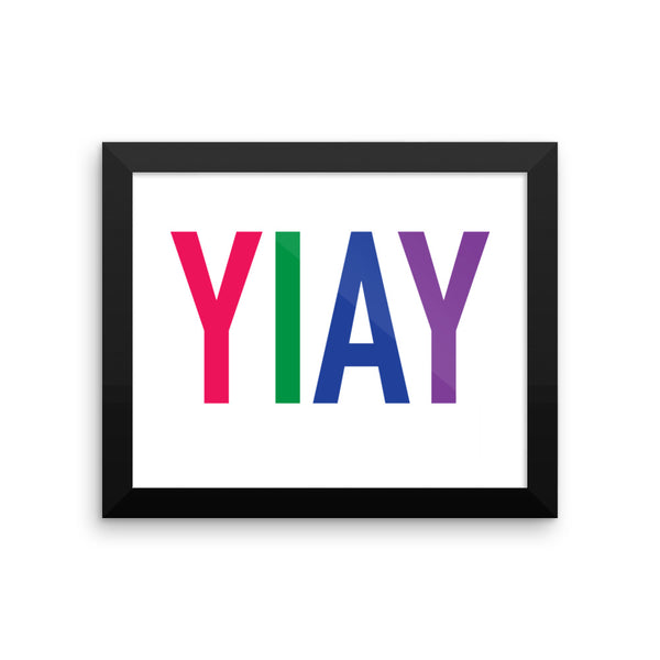 YIAY Framed photo paper poster