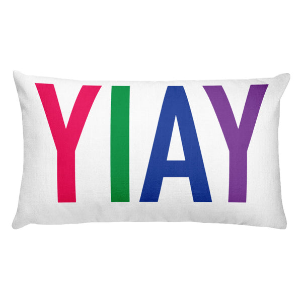 YIAY Rectangular Pillow