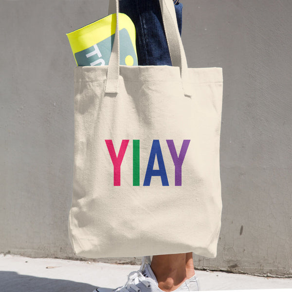 YIAY Cotton Tote Bag