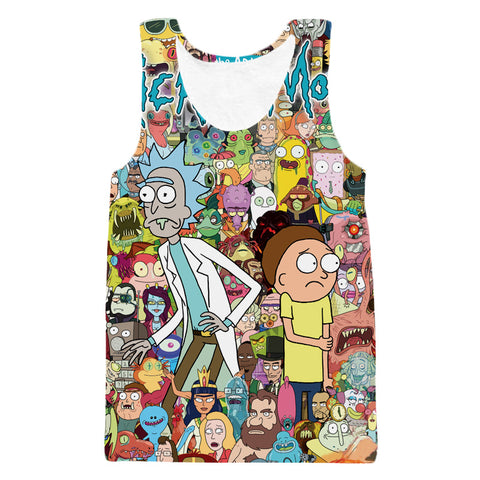 Rick and Morty - Lost in an Episode Tank
