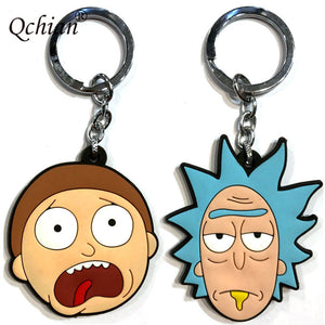 Rick and Morty - Keychain