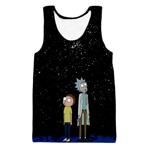 Rick and Morty - Staring into the Stars Tank
