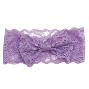 Lace Bow Headband- More Colors