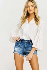 KanCan Frayed Cut Offs