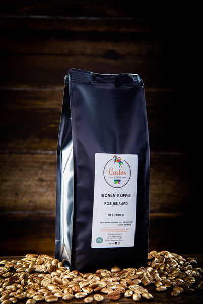 ROS BEIAARD KOFFIE - Rainforest Alliance label