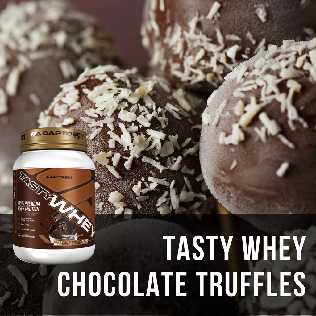 Tasty Whey Chocolate Truffles