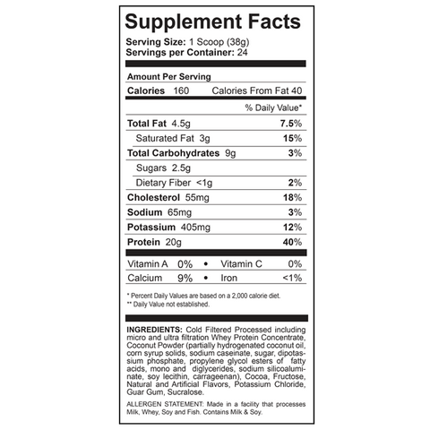 Image of Protein Powder - Tasty Whey Performance Protein Powder