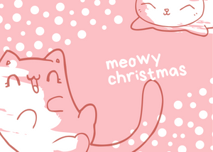 Meowy Christmas | Ukulele Package
