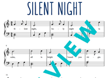Load image into Gallery viewer, Silent Night (Digital Sheet Music Download)