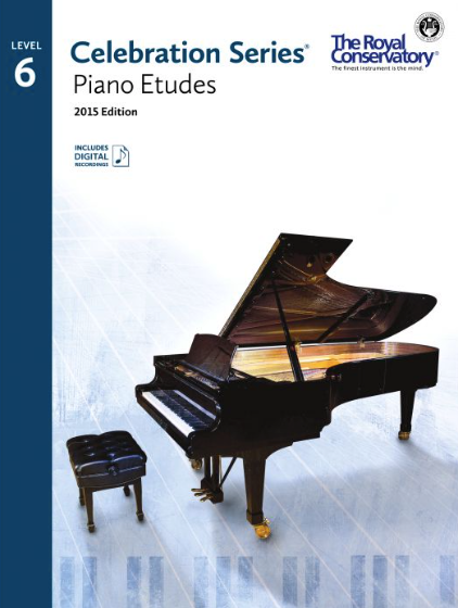 Level 6 Piano Studies Book