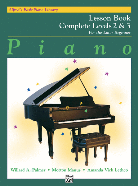 Alfred's Basic Piano Library Lesson Book Complete, Book 2 & 3