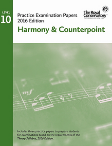 RCM Examination Papers - Level 10 Harmony & Counterpoint