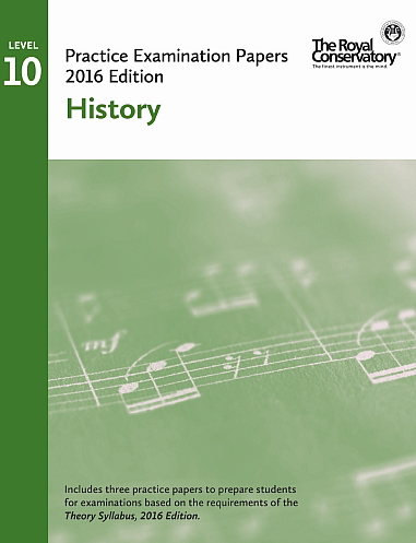 RCM Examination Papers - Level 10 History