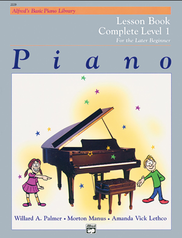 ALFRED'S BASIC PIANO LIBRARY: LESSON BOOK LEVEL 1