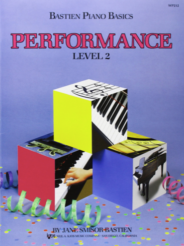 Bastien Level 2 Performance Book