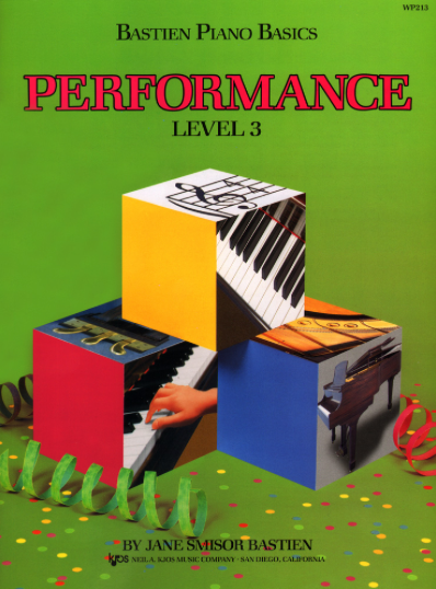 Bastien Level 3 Performance Book