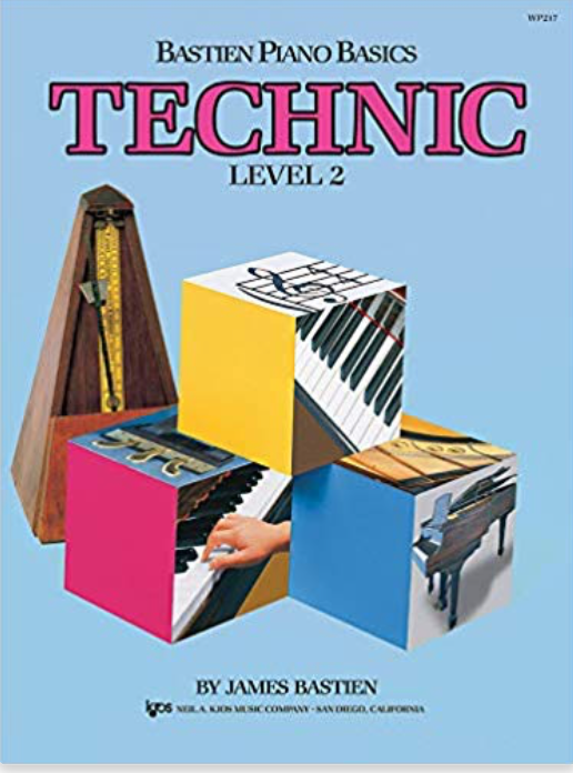 Bastien Level 2 Technic Book