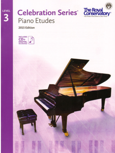 Level 3 Studies: Royal Conservatory of Music Celebration Series Piano