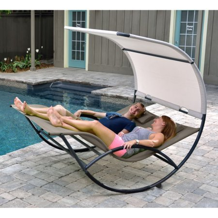 Vivere CHAISERKAL-CO Double Chaise Rocker