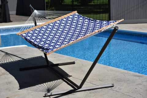 Vivere QFAB29 Quilted Double Fabric Hammock