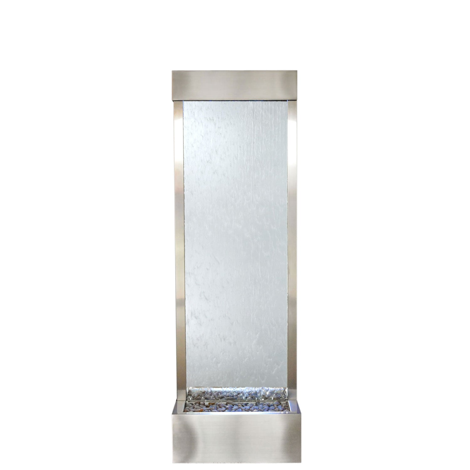 Gardenfall Fountain - Stainless with Silver Mirror