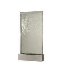 Grande Fountain - Stainless with Clear Glass