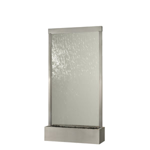 8' Grande Fountain - Stainless with Clear Glass