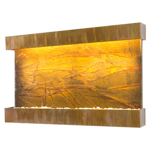 Horizon Falls Classic Quarry Rainforest Brown Marble Wall Fountain
