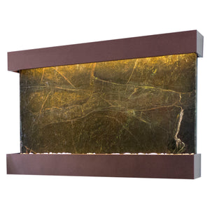 Horizon Falls Classic Quarry Rainforest Green Marble Wall Fountain