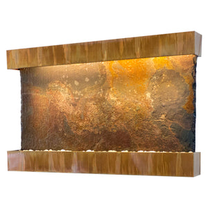 Horizon Falls Classic Quarry Rajah Slate Wall Fountain