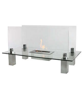 Fiero Freestanding Ethanol Fireplace
