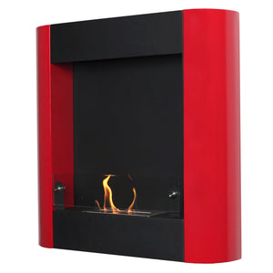 Focolare Muro Wall Mounted Bio-Ethanol Fireplace