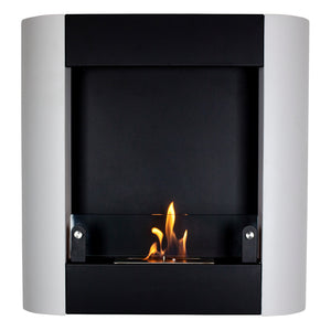 Bio-Ethanol, Wall Mounted, Nu-Flame, Indoor, Fireplace
