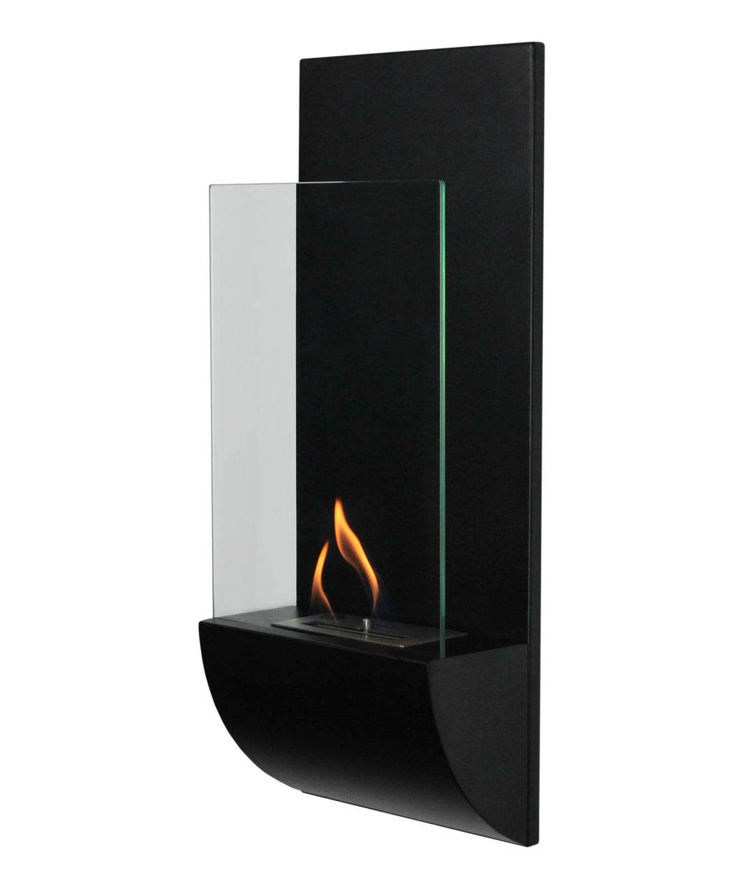 Bio-Ethanol, Wall Mounted, Indoor, Nu-Flame, Fireplace