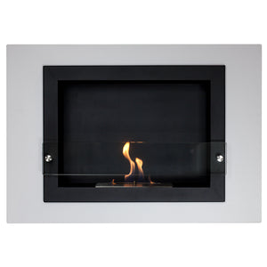 Camino Bianco Wall Mounted Fireplace (4 Sizes Available)
