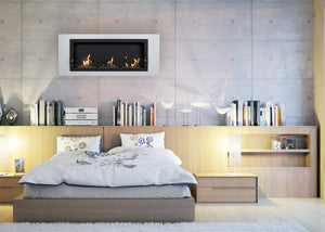 Nu-Flame Camino Bianco Tres Fireplace