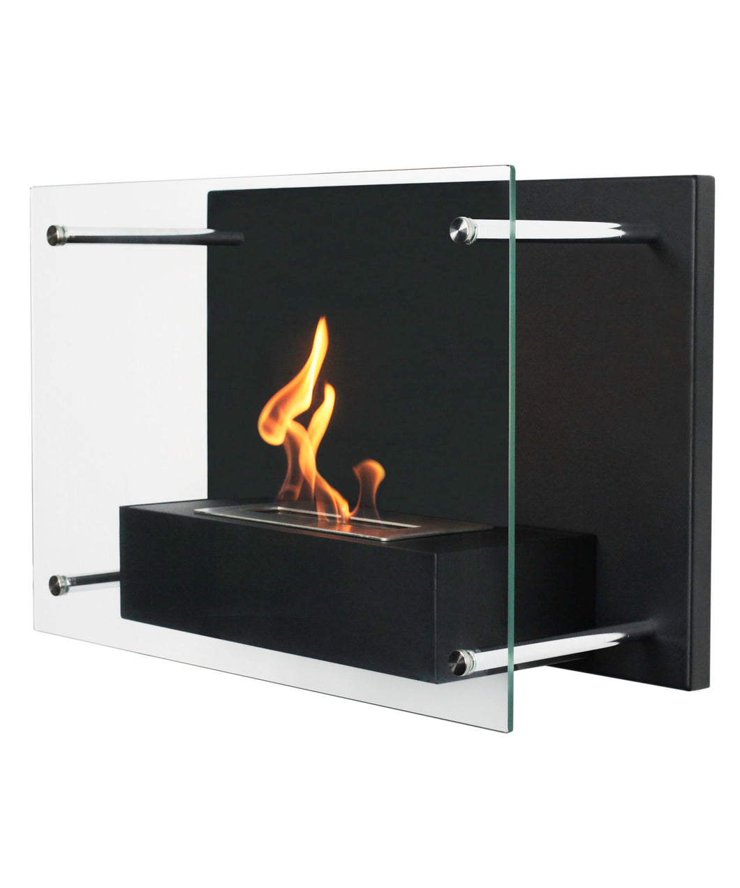 Bio-Ethanol, Fireplace, Wall Mounted