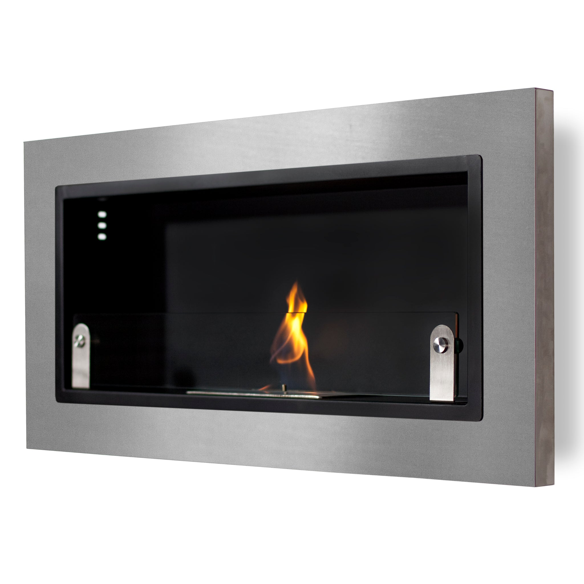 Ventana Wall Mounted Ethanol Fireplace 4 Sizes Available