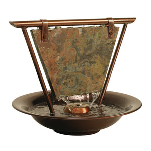 Haiku Moon Tabletop Fountain with Free 8 oz. Fountec and Protec