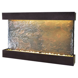 Horizon Falls Lightweight Slate Wall Fountain - Large
