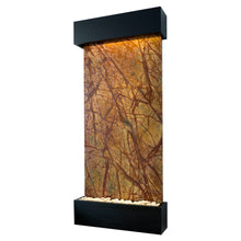 Nojoqui Falls Classic Quarry Rainforest Brown Marble Wall Fountain